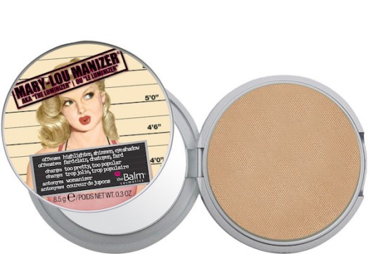 best highlighters, how to get glowing skin, The Balm Mary Lou Manizer