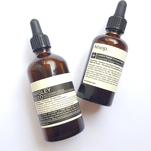 Aesop-Lucent-Facial-Concentrate, moisturiser, serum, brightening moisturiser, lightweight moisturiser, Aesop, best moisturiser