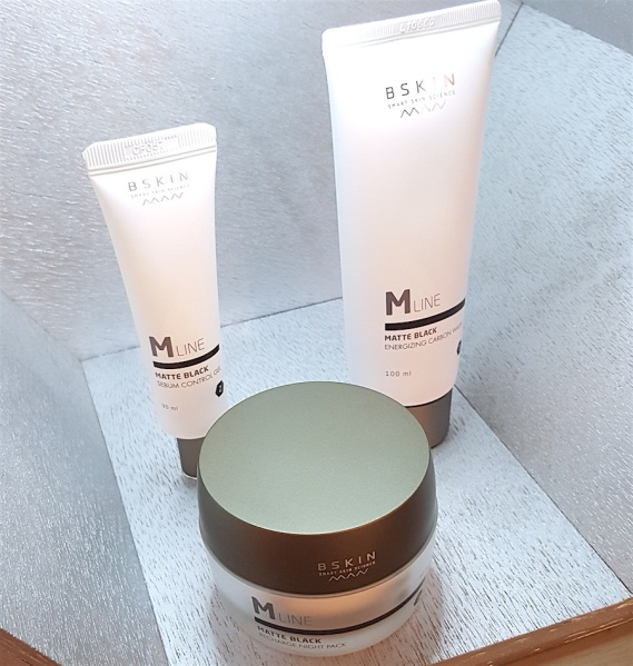 skincare, men's skincare, BSkin, Bskin Matte Black, skincare for oily skin,