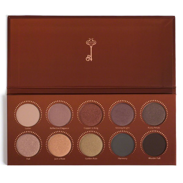 eyeshadow palette, how to make your eyes bigger, rose gold eyeshadow