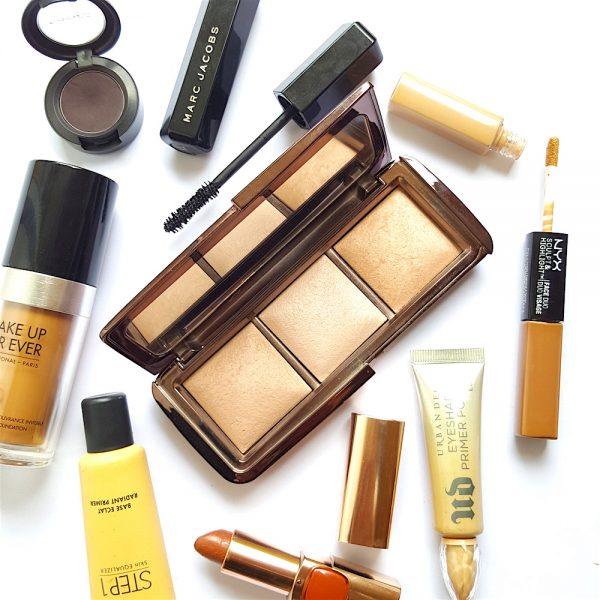 highlighter, highlighter palette, highlighter for mature skin, Hourglass Ambient Lighting Palette, strobing,