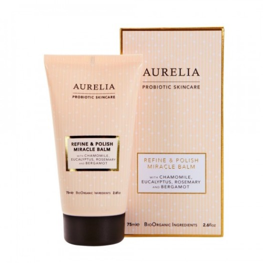 aurelia-refine-polish-miracle-balm, exfoliator for sensitive skin, get glowing skin, exfoliate according to your skin type
