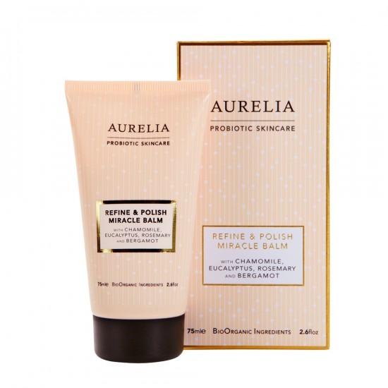 aurelia-refine-polish-miracle-balm, exfoliator for sensitive skin, get glowing skin, exfoliate according to your skin type