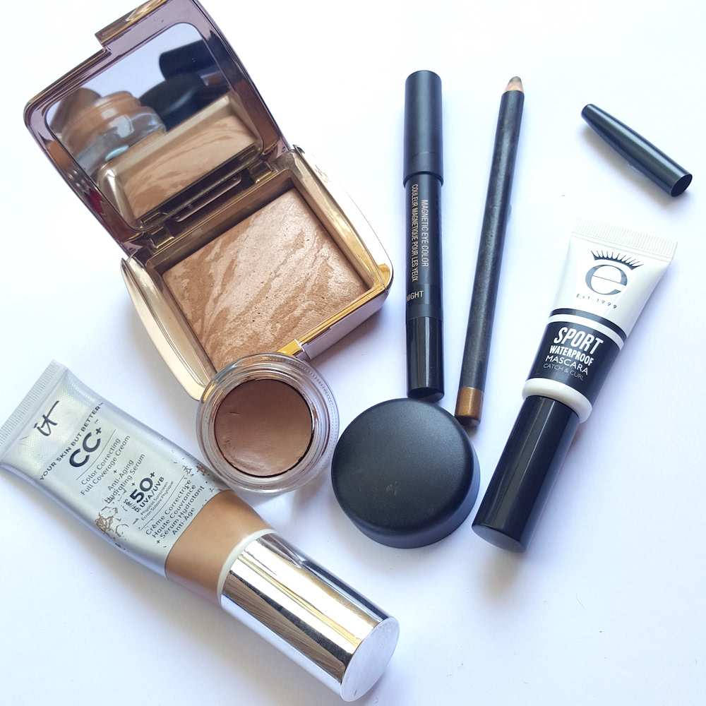 how to look good, sick day face, makeup when you're sick, waterproof mascara, bronzer, CC cream
