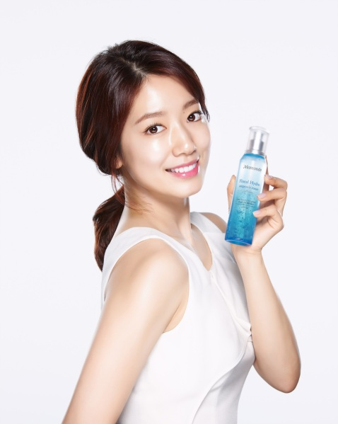 Park Shin Hye in Singapore, Mamonde skincare, korean beauty tips, chok chok glowing skin, K-Drama,