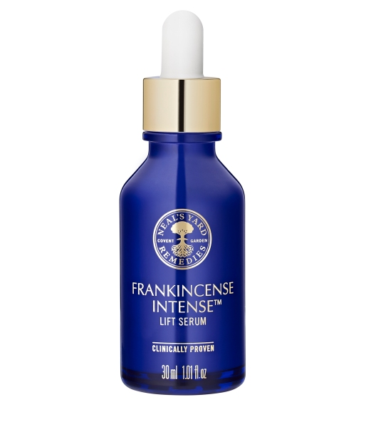 Neal's Yard Remedies Frankincense Intense Serum review, antiageing serum, organic skincare, destress your skin, destress, relax,