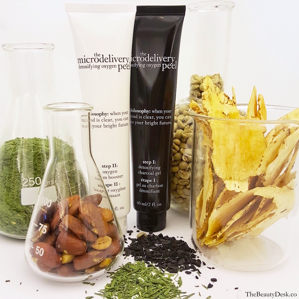 Philosophy The Microdelivery Detoxifying Oxygen Peel review, at home peel, charcoal mask, oxygen facial, how to get brighter skin