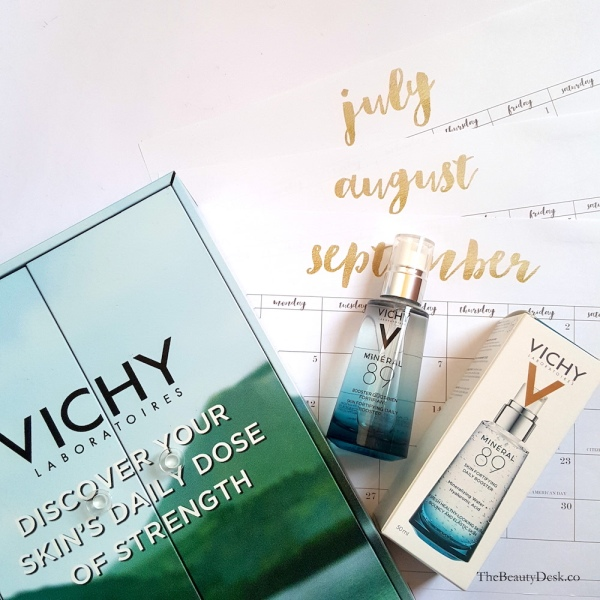 Review-Vichy-Mineral-89-Skin-Fortifying-Daily-Booster, serum for dry skin, serum for pregnant women, serum for sensitive skin, serum without fragrance, Serum without parabens, lightweight serum, watery serum