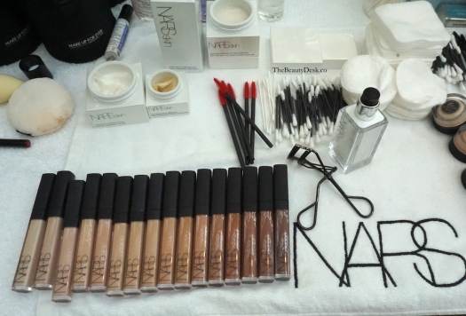 NARS Radiant Creamy Concealer, Singapore Fashion Week, backstage beauty, backstage beauty tips, beauty tips, makeup tips, how to do your makeup like a pro, pro makeup artist tips