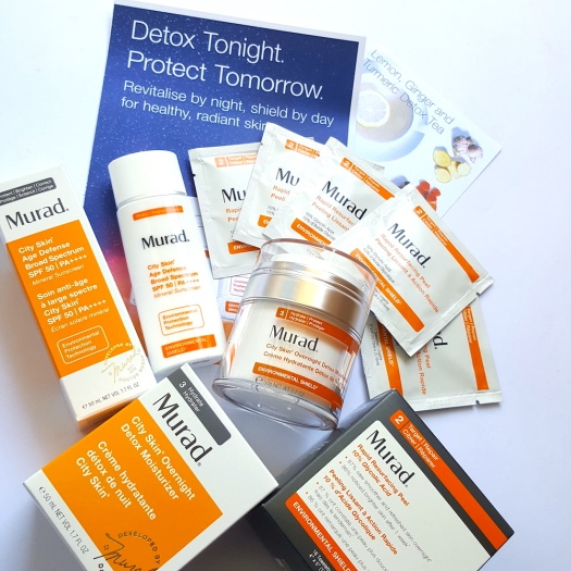Murad City Skin Range review, skincare to beat pollution, clear skin, anti-ageing, younger skin